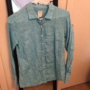 J. Crew The perfect shirt 100% linen